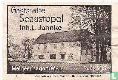 Gaststätte Sebastopol - L. Jahnke
