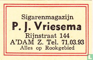 Sigarenmagazijn P. J. Vriesema
