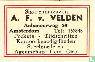 Sigarenmagazijn A.F. v. Velden