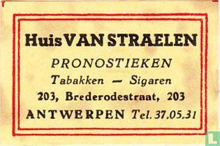 Huis Van Straelen - pronostieken