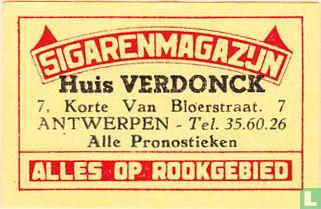 Sigarenmagazijn Huis Verdonck