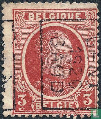 Belgique [BEL] - Roi Albert I (type Houyoux), imprimé