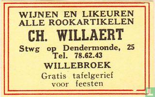 Ch. Willaert