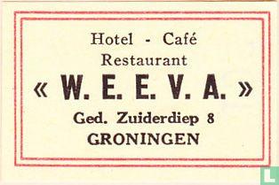 """Hotel - Café Restaurant """"W.E.E.V.A."""""""