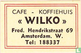 """Cafe - Koffiehuis """"Wilko"""""""