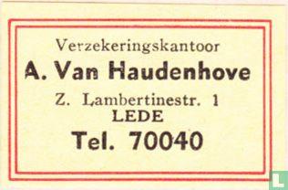 Verzekeringskantoor A. Van Haudenhove