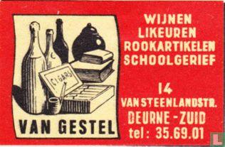 Wijnen Likeuren Van Gestel
