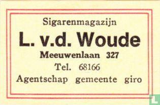 Sigarenmagazijn L. v. d. Woude