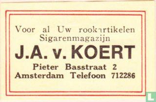 Sigarenmagazijn J.A.v. Koert