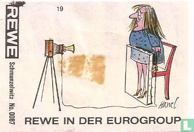Schmunzelwitz No.0087 REWE in der Eurogroup
