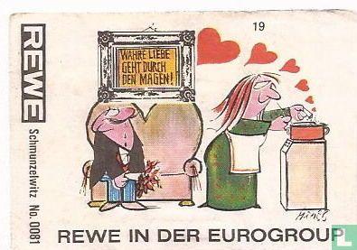 Schmunzelwitz No.0081 REWE in der Eurogroup