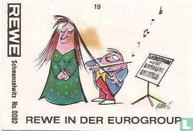 Schmunzelwitz No.0082 REWE in der Eurogroup