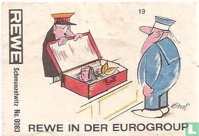 Schmunzelwitz No.0083 REWE in der Eurogroup