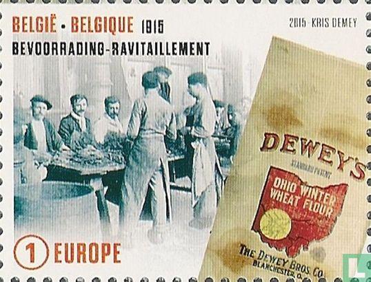 Belgique [BEL] - 1915 - Ravitaillement