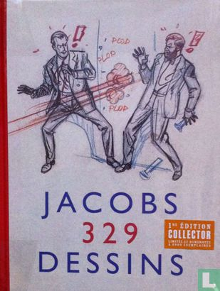 Blake und Mortimer - Jacobs - 329 Dessins