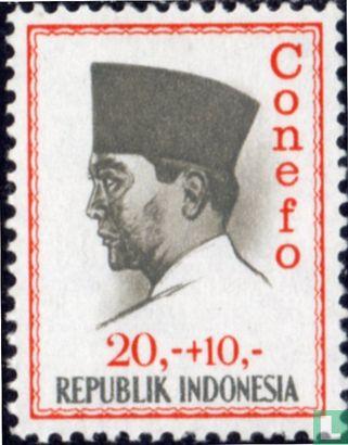Indonesia [IDN] - President Sukarno (CONEFO)