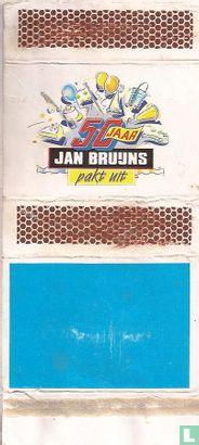 50 Jaar Jan Bruijns pakt uit
