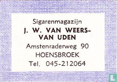 Sigarenmagazijn J.W. van Weers-van Uden