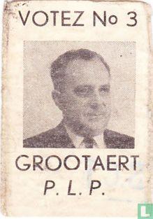 Votez N° 3 Grootaert P.L.P.
