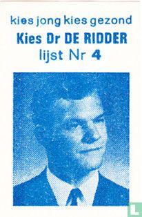 Kies Dr De Ridder