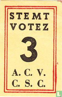 Stemt Votez 3 A.C.V. - C.S.C.