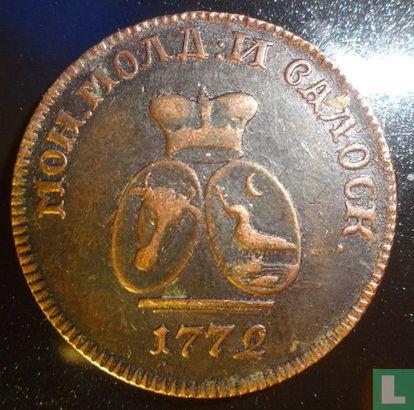 Moldau und Walachei 1 Para/ 3 Dengi 1772 - Bild 1