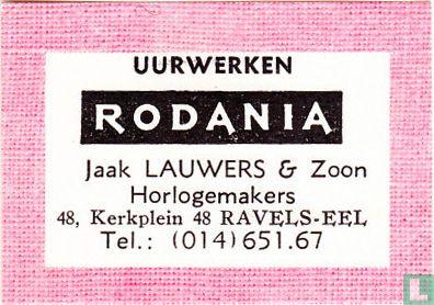 Uurwerken Rodania - Jaak Lauwers & Zoon