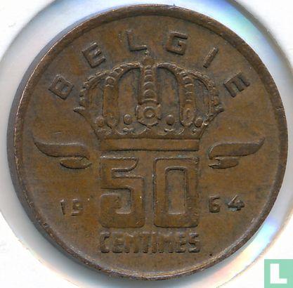 België - België 50 centimes 1964 (NLD)