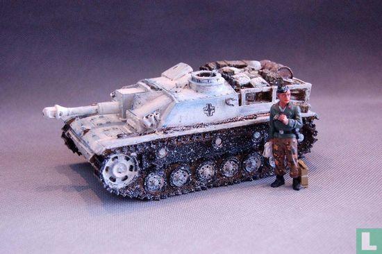 Sturmgeschutz III with officer