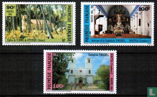 Frans-Polynesië - Religieuze gebouwen