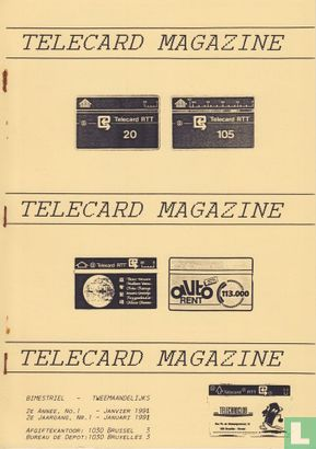 Telecard magazine 1 - Afbeelding 1