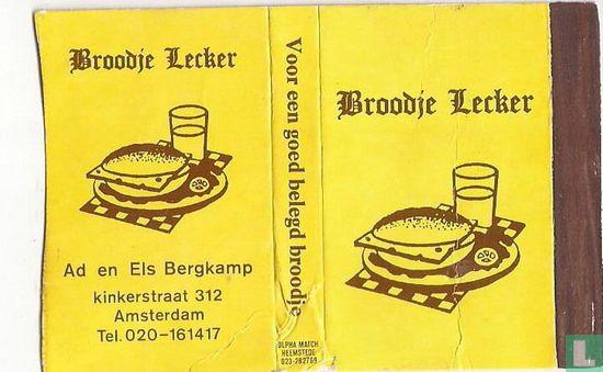 Broodje Lecker - Ad en Els Bergkamp - Image 1