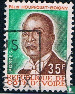 Ivory Coast [CIV] - President Félix Houphouët-Boigny
