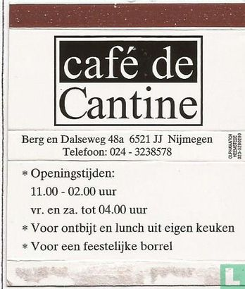 Café de Cantine