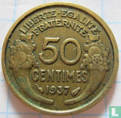 Frankrijk (France) - Frankrijk 50 centimes 1937