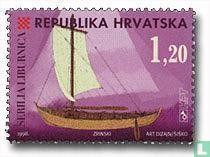 Kroatien - Kroatische Boot