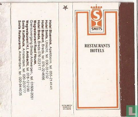 Smits Restaurants Hotels - Image 1