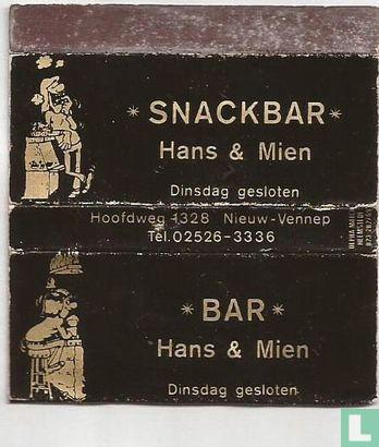 Snackbar Hans & Mien