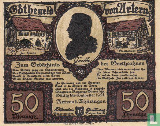 Artern, Stadt - Artern, Stadt 50 Pfennig (4)