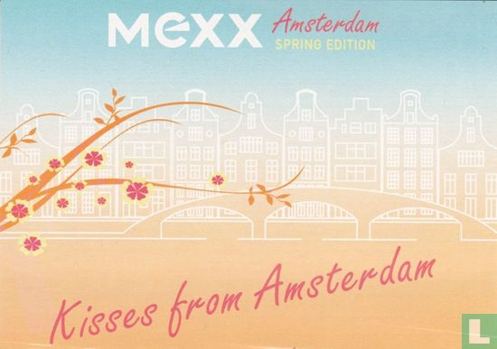"Boomerang Freecards - B070075 - MEXX ""Kisses from Amsterdam"""