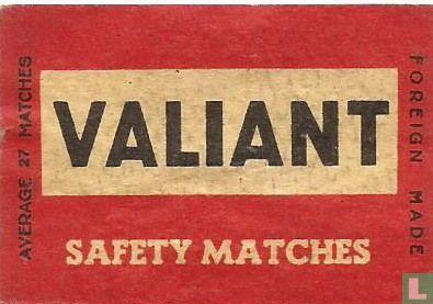 Valiant safety matches