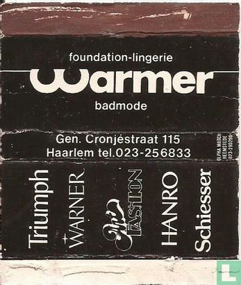 Foundation-lingerie Warmer badmode