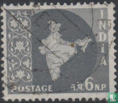 India - Landkaart