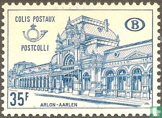 België [BEL] - Station Aarlen