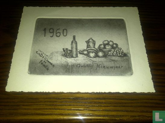 Gelukkig nieuwjaar 1960 - Bild 1