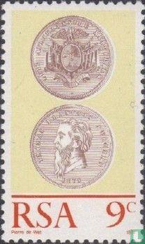 Zuid-Afrika - Zuid-Afrikaanse munten 100 jaar