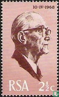Zuid-Afrika - Inauguratie president Fouché