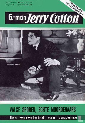 G-man Jerry Cotton 154