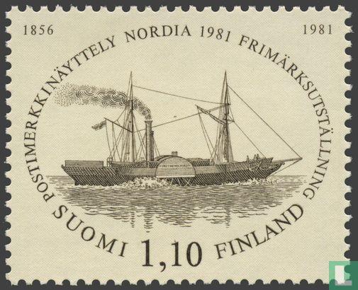Finland - Postzegeltentoonstelling NORDIA