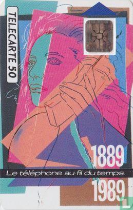 France Telecom - 1889-1989 Téléphone au fil du temps